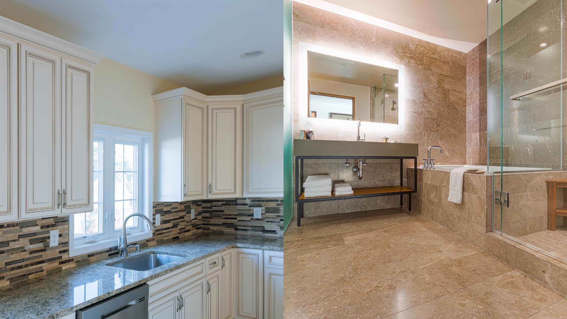 kitchen bath remodel