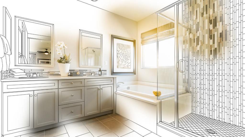 bathroom remodel design