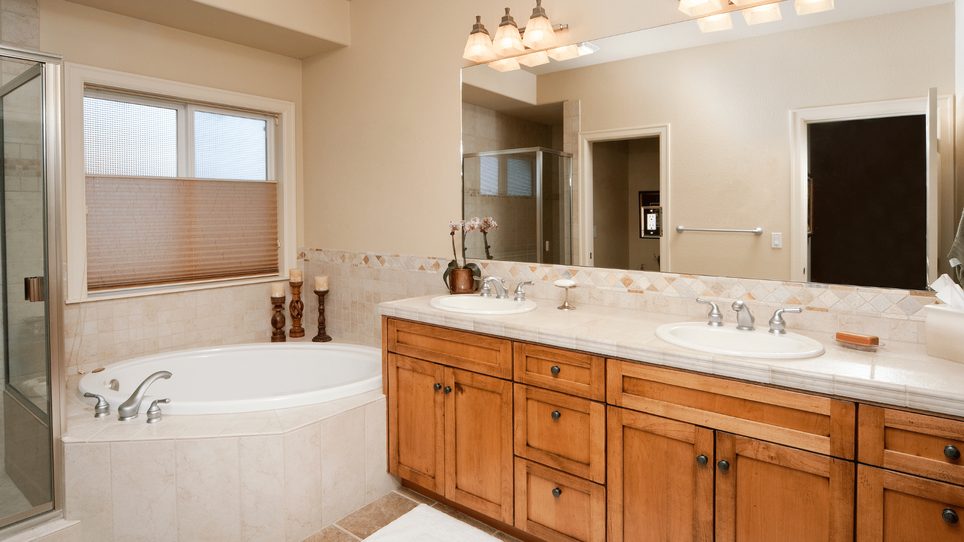 average bathroom remodel cost of nice bathroom