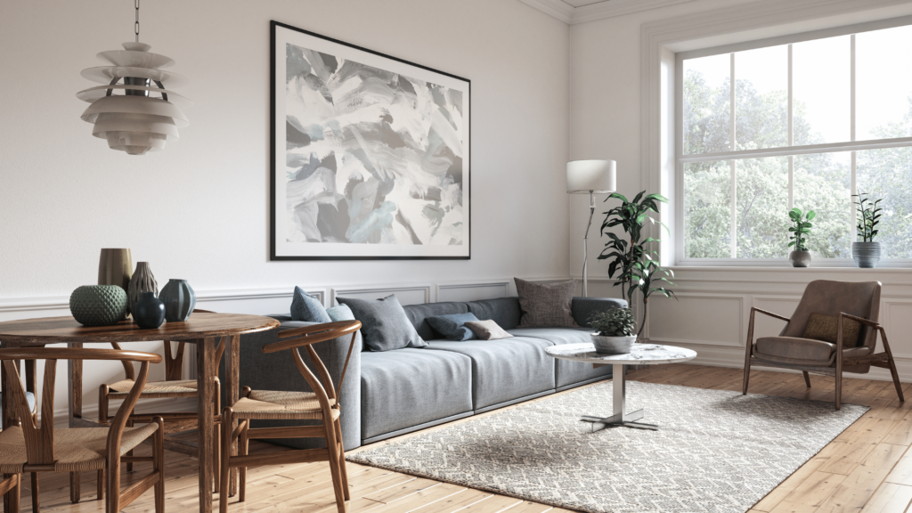 How to Make a Small Living Room Look Bigger With Lighting