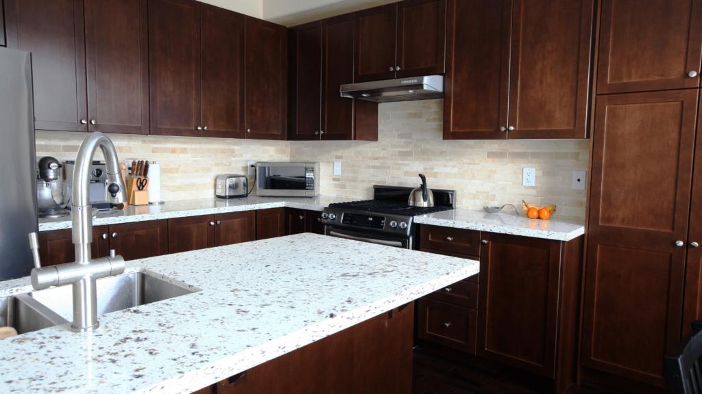 quartz types of kitchen countertops