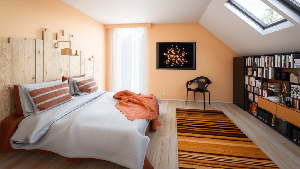Attic Bedroom Room Conversion